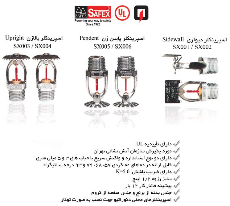 Prod - Safex sprinkler